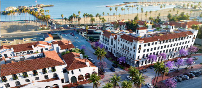 Hotel californian at santa barbara the most foreseen for Independent luxury hotels