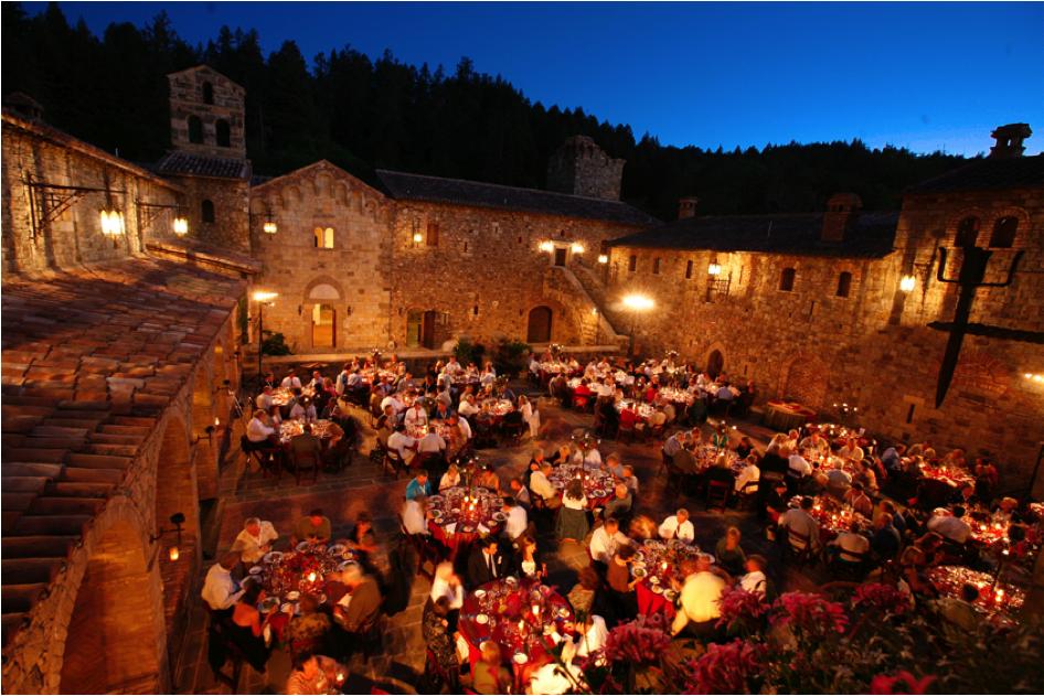 The Mad King of Napa Valley: Inside Castello di Amorosa ...