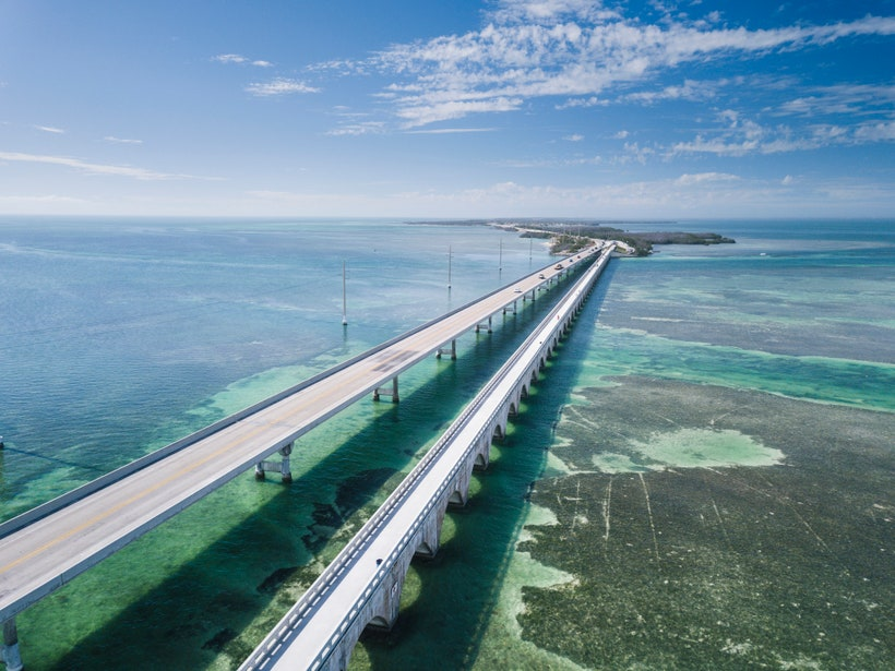 overseas highway: miami to key west - get americas